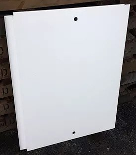 Refrigerated counter backboards