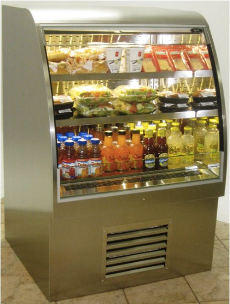 QBD Refrigerated counter