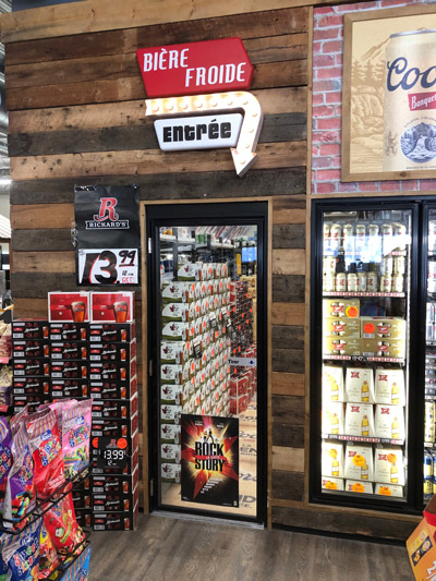 EDC beer chamber - Quebec city project